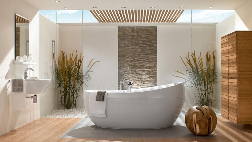 reforma integral baño curvas