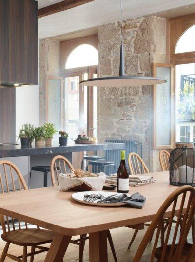lume reformas cocina integrada salon luz